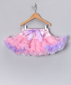 Take a look at this Pink & Lavender Princess Pettiskirt - Infant, Toddler & Girls by American Tutu & Ooh La Leggies on #zulily today!
