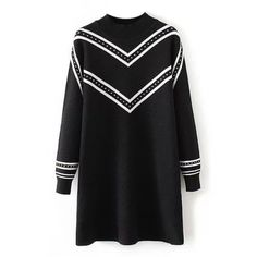 34.17$  Watch here - http://dim1y.justgood.pw/go.php?t=204380601 - Plus Size Striped Crew Neck Longline Sweater 34.17$