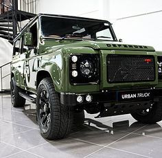 The Ultimate Defender, the Urban Truck RS feauturing the complete styling package with blistering LS3 Corvette V8 Performance.