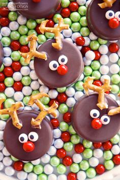 Holiday Classroom Party Treat - Rudolph Cookies #AlexiaHolidays