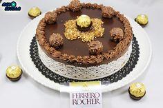 Tarta de Ferrero Rocher y nutella Ana Sevilla con Thermomix