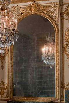 Mirror - The Bed Chamber of Marie Antoinette