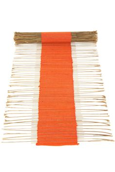 Solid Color Twig Table Runner