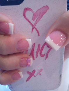 Small French Nails Previous Post Next Post French Nails, French Tip Acrylic Nails, White Tip Nails, French Manicure Nails, Simple Acrylic Nails, Pink Acrylic Nails, Pink Nails, Gel Nails, Nail Deaigns