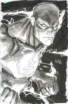 The Flash, by Freddie Williams II