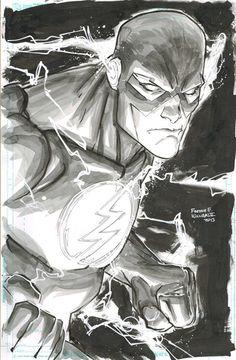 The Flash, by Freddie Williams II