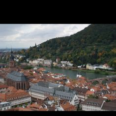 View from Heidelberg Castle Germany