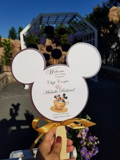 Mickey Mouse Shaped Programs For Your Disney Wedding! Mickey Mouse Shaped Programs For Your Disney Wedding! Wedding Menu, Wedding Programs, Diy Wedding, Dream Wedding, Wedding Day, Summer Wedding, Wedding Stuff, Wedding Props, Wedding Games