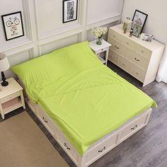 Syncyoo Travel Camping Sheet Sleeping Bag Liner Compact Sleep Bag And Sack.(Green) - $25.99