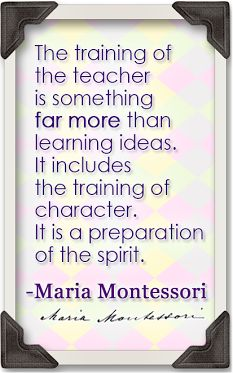 Being a Montessori teacher is embracing the same life long love of learning as your students, and sharing the journey with them. #MontessoriQuotes