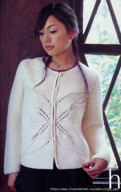 Жакет белого цвета