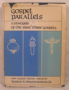 Gospel Parallels Burton Throckmorton Jr New 4th Edition 1979 Hardcover