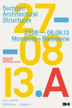 Summer Architectural Structures convention