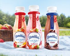 Landliebe Milchgetränke. Neu im Kühlregal und als Produkttest bei #konsumgöttinnen