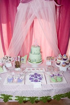 """Photo 1 of 18: Tinkerbell / Birthday """"Janelle's Pixie Hollow"""" 