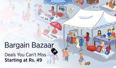 Paytm Bargain Bazaar : Paytm Bargain Bazaar Sale Offer