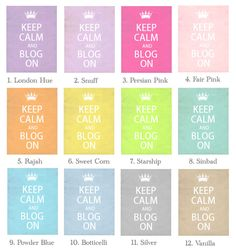 *Cute n Cool* Blog Stuff  http://blo64rt.blogspot.com/2012/08/keep-calm-and-blog-on-and-choose-your.html