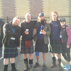 Pic @TheKilt Walk. Congrats to those who finished! @Grant O'Rourke @grahammctavish @Sam Heughan @Outlander_Starz #motleycrew pic.twitter.com/3DkkJ2AiFL