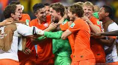 Netherlands v Costa Rica 2014 World Cup