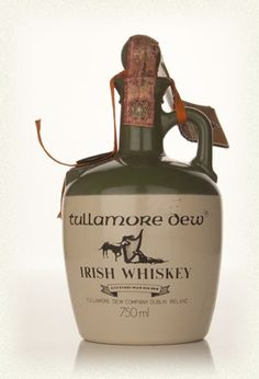 Tullamore Dew Irish Whiskey (Ceramic Jug) - 1970s....Me Da still has it !!