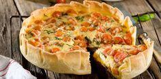 Cocina – Recetas y Consejos Veggie Recipes, Vegetarian Recipes, Dinner Recipes, Quiches, Empanadas, Vegetable Sides, Sin Gluten, Bon Appetit, Love Food