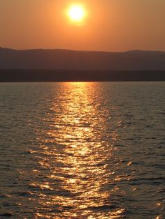 Sunset on Lake Champlain.  Google image