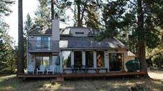Black Butte Ranch, OR: This home has a beautiful view of the meadow from the living room and deck, perfect for an evening BBQ or relaxing and watch wildlife, such as deer an...