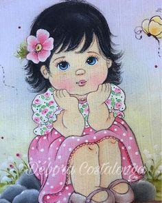 Resultado de imagem para meninas pintadas por laurenice