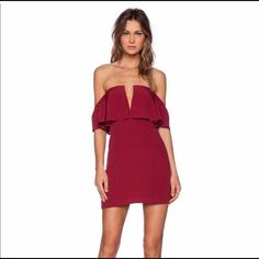 Lovers + Friends Red Dress