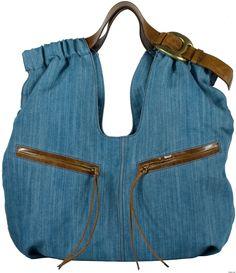Easy and Glamour! ---> Kooba - Lana Denim Tote :  handbag tote bag bag denim tote