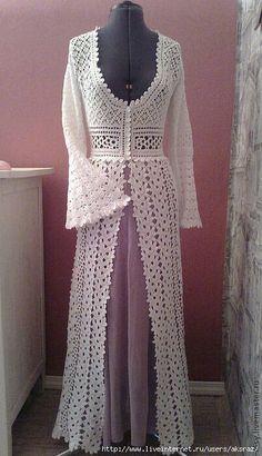 Crochet classic dress