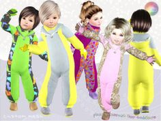 Plain Toddler Snowsuit by Natef005  http://www.thesimsresource.com/downloads/1188887