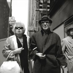 Vivian Maier // Old couple, Chicago.