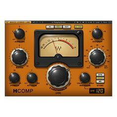 Waves H-Comp Compressor Plug-In Native Favourite comp for guitars