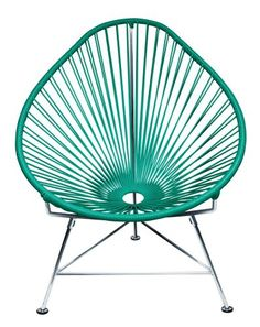 Special Offers - Innit Designs Acapulco Chair Turquoise Weave on Chrome Frame - In stock & Free Shipping. You can save more money! Check It (March 30 2016 at 06:35AM) >> http://gardenbenchusa.net/innit-designs-acapulco-chair-turquoise-weave-on-chrome-frame/