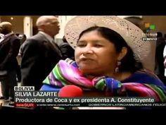 ▶ Bolivia denuncia doble moral de EE.UU. en lucha contra el narcotráfico - YouTube