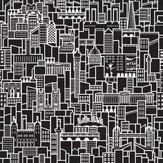 当城市遇上扁平化,画风突变,逗比卖萌风上阵