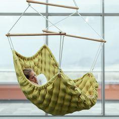 Stuffed chair massage balls Swingy. Czech design Linda Vrňáková. Hand made.