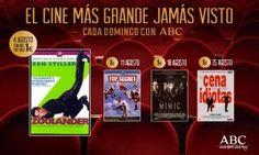 Hazte con las películas que marcarán tu verano ¡Cada domingo El Mejor Cine Jamás Visto con ABC! Para saber más: http://ofertasdeprensa.offertazo.com/el-mejor-cine-jamas-visto-abc-peliculas/