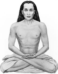 Mahavatar Babaji; great great master of Parahamsa yogananda, disseminator of the Kriya yoga technique, taught by Jesus to the 12 disciples.