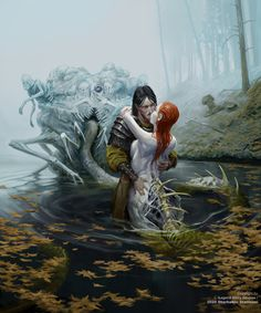 Fantasy Monster, Monster Art, Dark Fantasy Art, Fantasy Artwork, Fantasy Creatures, Mythical Creatures, Flesh And Blood, Creature Concept, Magic Art