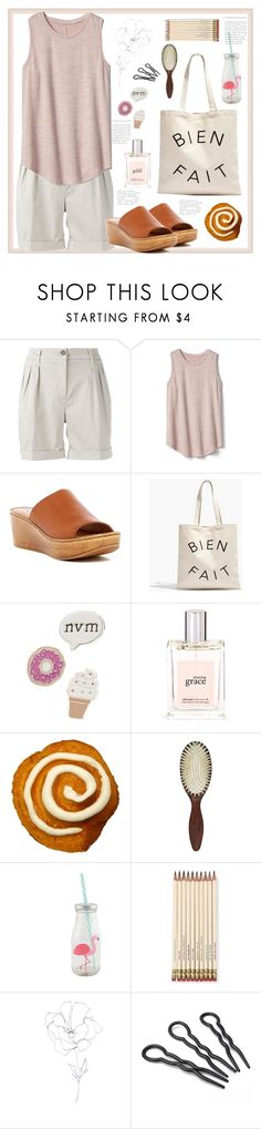 """""""Easy as can be."""" by natalyapril1976 on Polyvore featuring FAY, Gap, Seychelles, Madewell, Red Camel, philosophy, Christophe Robin, Kate Spade and Blume"""