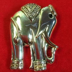 Selling this Elephant Pin or Pendant.   Silver / gold in my Poshmark closet! My username is: karenpaulovich. #shopmycloset #poshmark #fashion #shopping #style #forsale #Jewelry