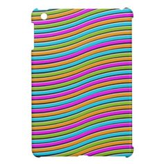 friendship stripes iPad mini case