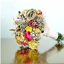 Costume jewelry bouquet