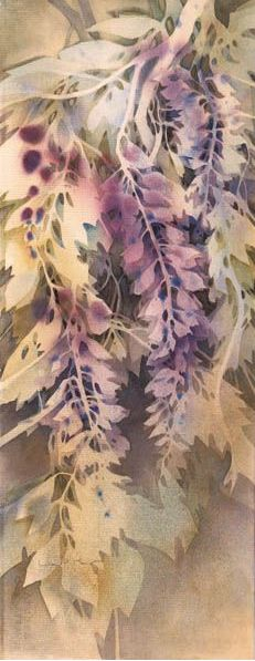 Watercolor Negative Painting, Watercolor Leaves, Abstract Watercolor, Watercolor And Ink, Space Painting, Art Prompts, Art N Craft, Leaf Art, Art Techniques