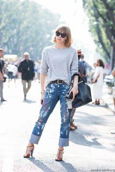 Trend Alert - Jeans Customizados