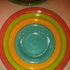 Fiesta Dinnerware set- Love this color combo!