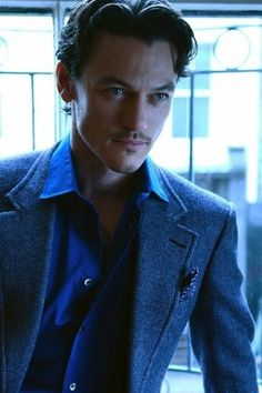 Luke Evans. This guy makes me melt.