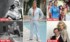 Sir Roger Moore and his four formidable wives Roger Moore, Daily Mail Celebrity, Kenneth More, David Niven, Clint Eastwood, Great Memories, Celebs, Celebrities, The Man